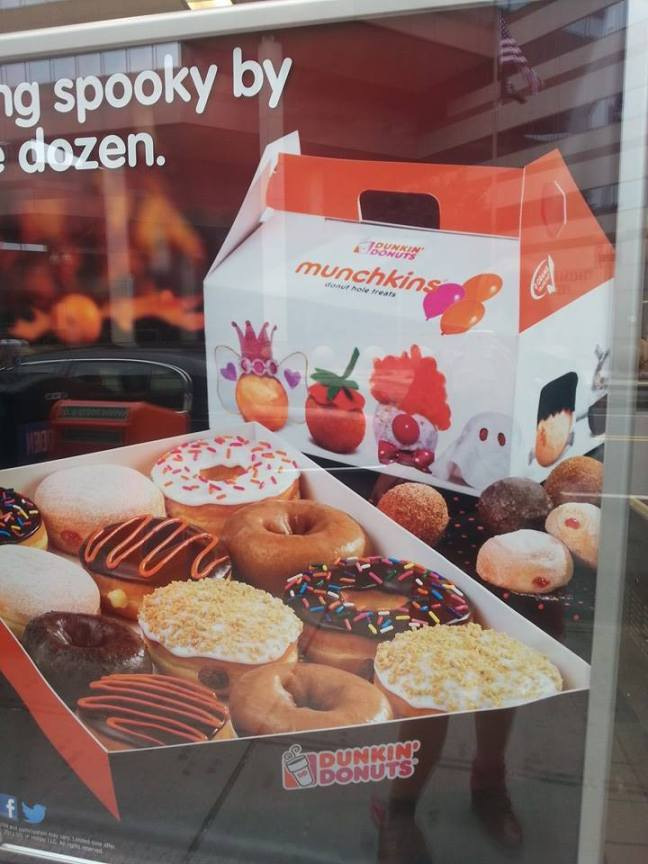 Munchkins Dunkin Donuts