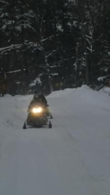 Motoneige au Canada - Algonquin Park 3