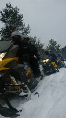 Motoneige au Canada - Algonquin Park 4