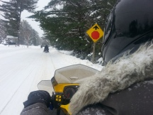 Motoneige au Canada - Algonquin Park1
