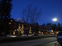 Banff by night