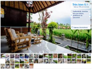 Hôtel Puji Bungalow à Ubud, Bali, Indonésie