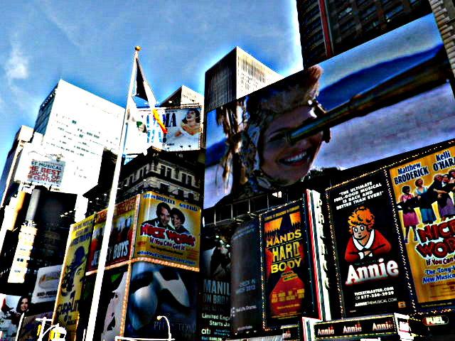 Time Square Annie