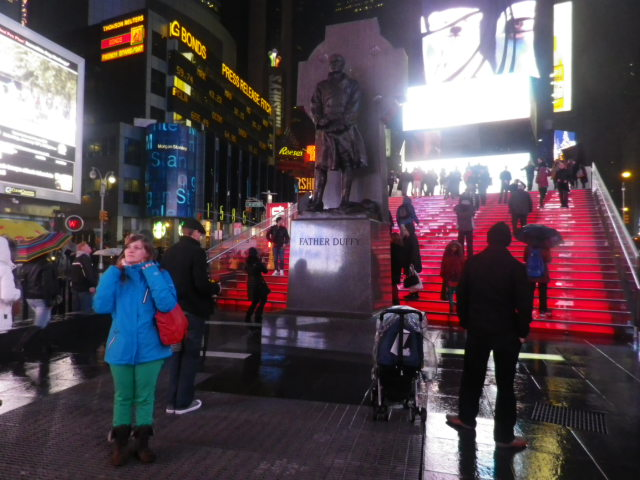 Wondering in Time Square