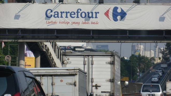 Jakarta Indonesia Carrefour