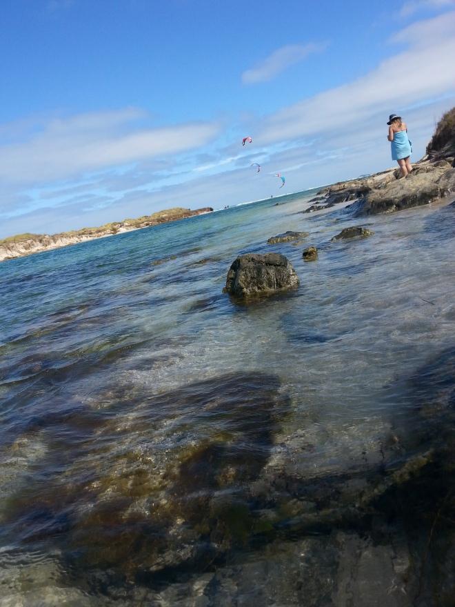 plage australienne belle