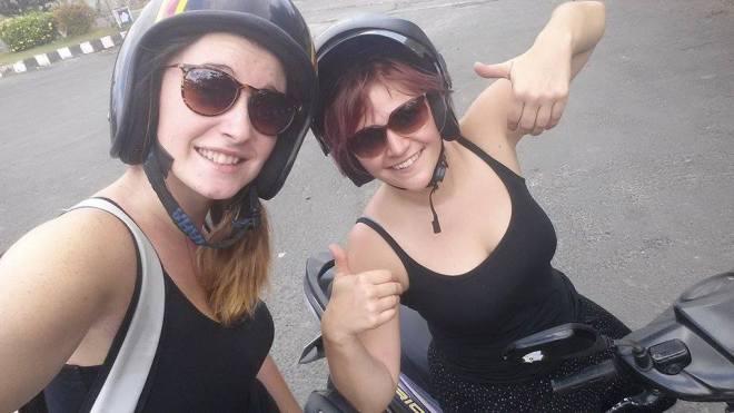 Bali à moto