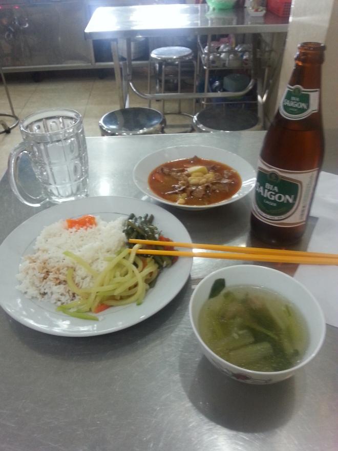 Ho Chi Minh manger pas cher