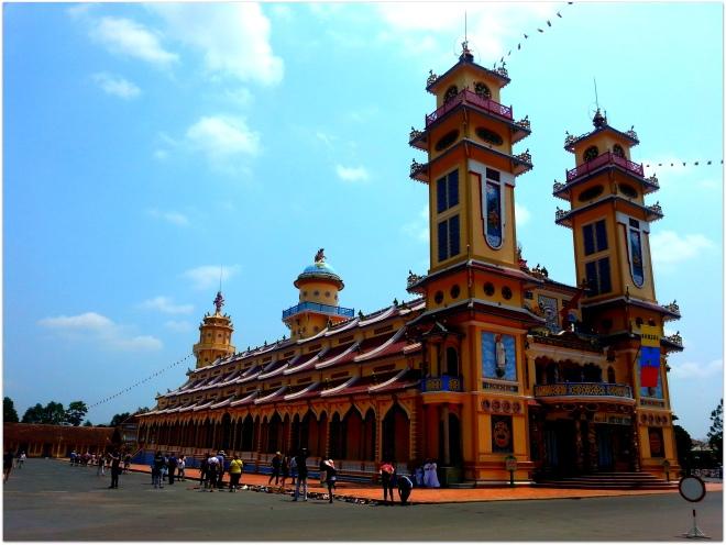 big temple Vietnam