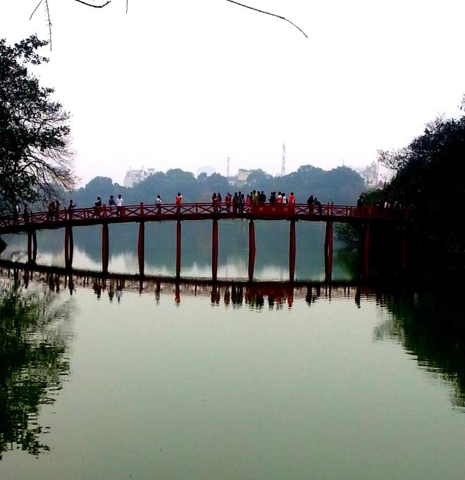Hanoi Bridge Vietnam