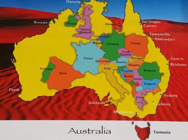Taille europe vs Australie