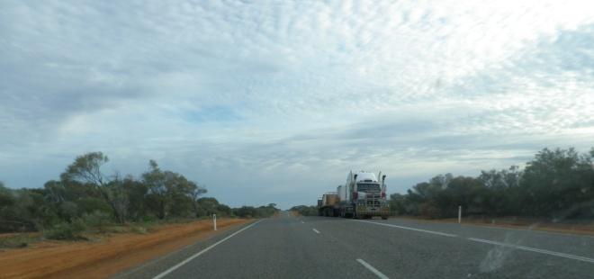 sur la route australienne