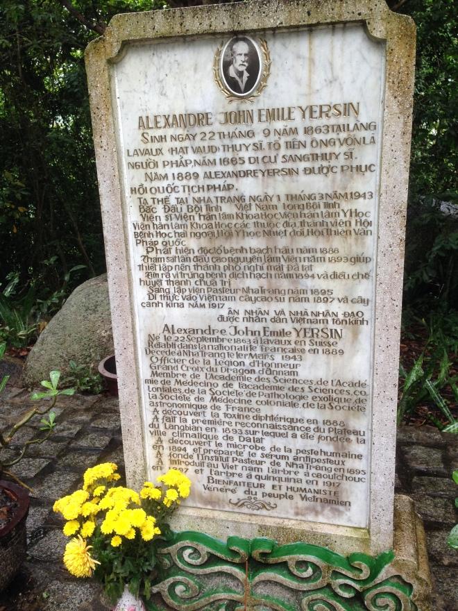 Alexandre Yersin tombe
